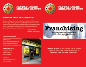jassal signs Money-Money-FRANCHISING-brochure