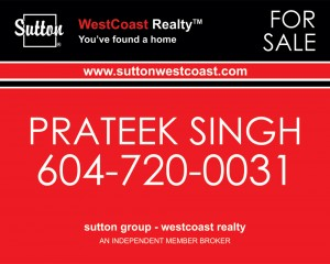 Prateek-Real-estate-sign