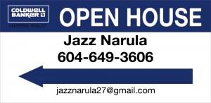 jassal signs 12x24--open-house